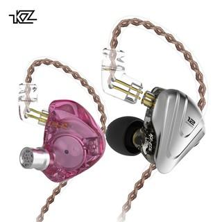 Tai nghe nhét tai thể thao phối hợp KZ ZSX 5BA+1DD