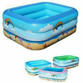 Bể bơi 3 tầng 1m3 cho bé
