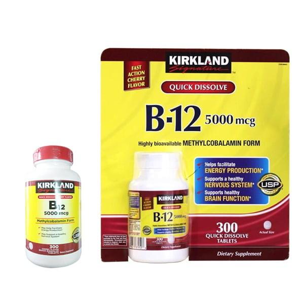 Vitamin B12 kirkland kèm bill_Hộp 300 viên