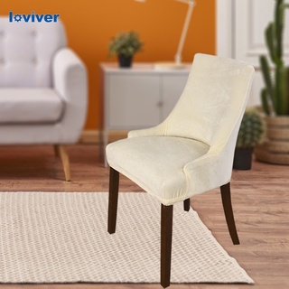 Loviver Stretch Wingback Chair Cover Slipcover Reusable Arm Chair Cover