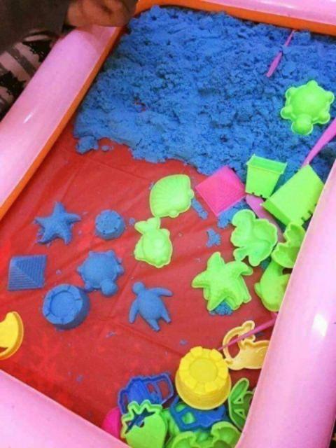 Bộ cát nặn sinh học cho bé
