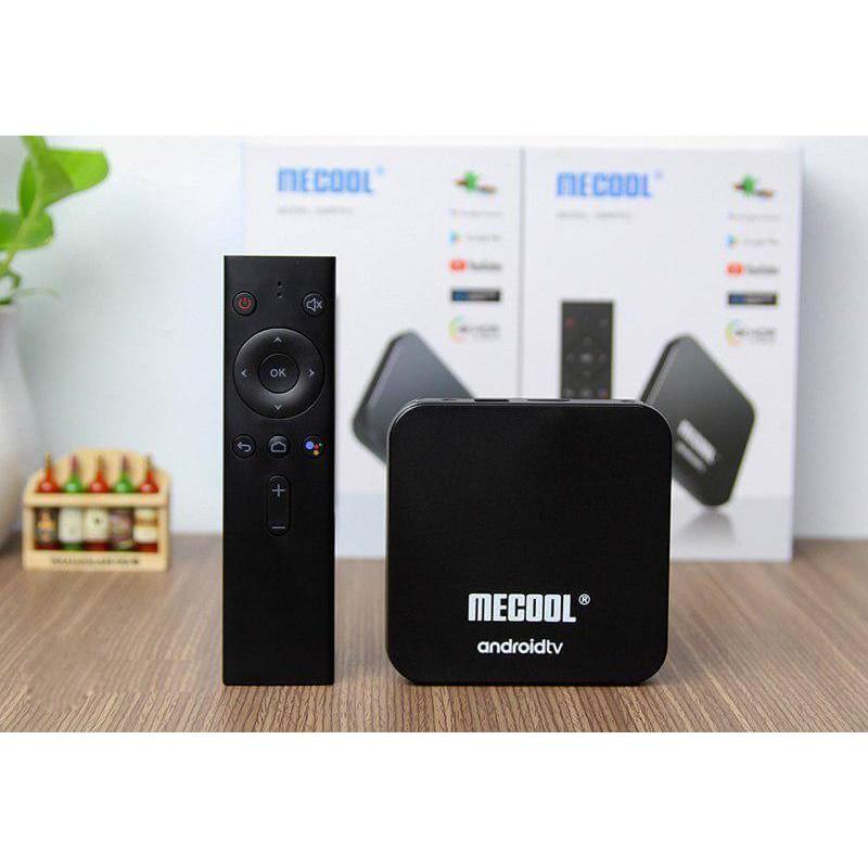 Thiết Bị TV Box Mecool KM9 PRO - 4GB RAM, 32GB Bộ nhớ trong, có điều khiển giọng nói kèm theo