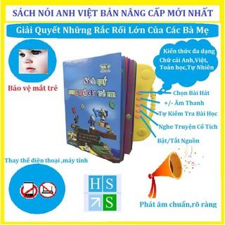 (Bản nâng cấp 3+) Sách nói điện tử song ngữ (Anh – Việt) Thanh Nga giúp trẻ học tốt Tiếng Anh