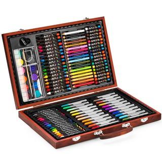 Bộ bút màu hộp gỗ M110W Colormate