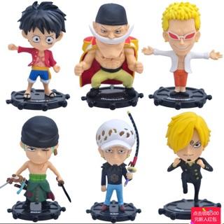Bộ Mô Hình 6 Nhân Vật Manga One Piece Luffy