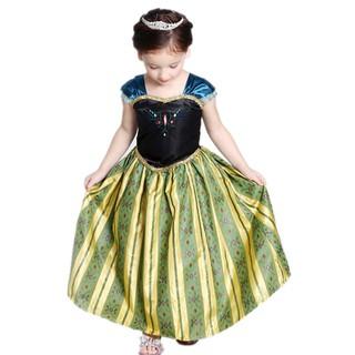 Đầm Hóa Trang Công Chúa Anna Cho Bé Gái