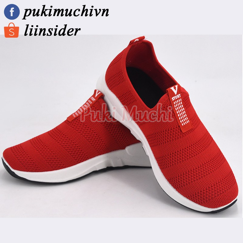 [Thanh lý]Giày thể thao nữ thoáng khí đế bằng màu đỏ s35-40 - 2407603 , 492107244 , 322_492107244 , 250000 , Thanh-lyGiay-the-thao-nu-thoang-khi-de-bang-mau-do-s35-40-322_492107244 , shopee.vn , [Thanh lý]Giày thể thao nữ thoáng khí đế bằng màu đỏ s35-40