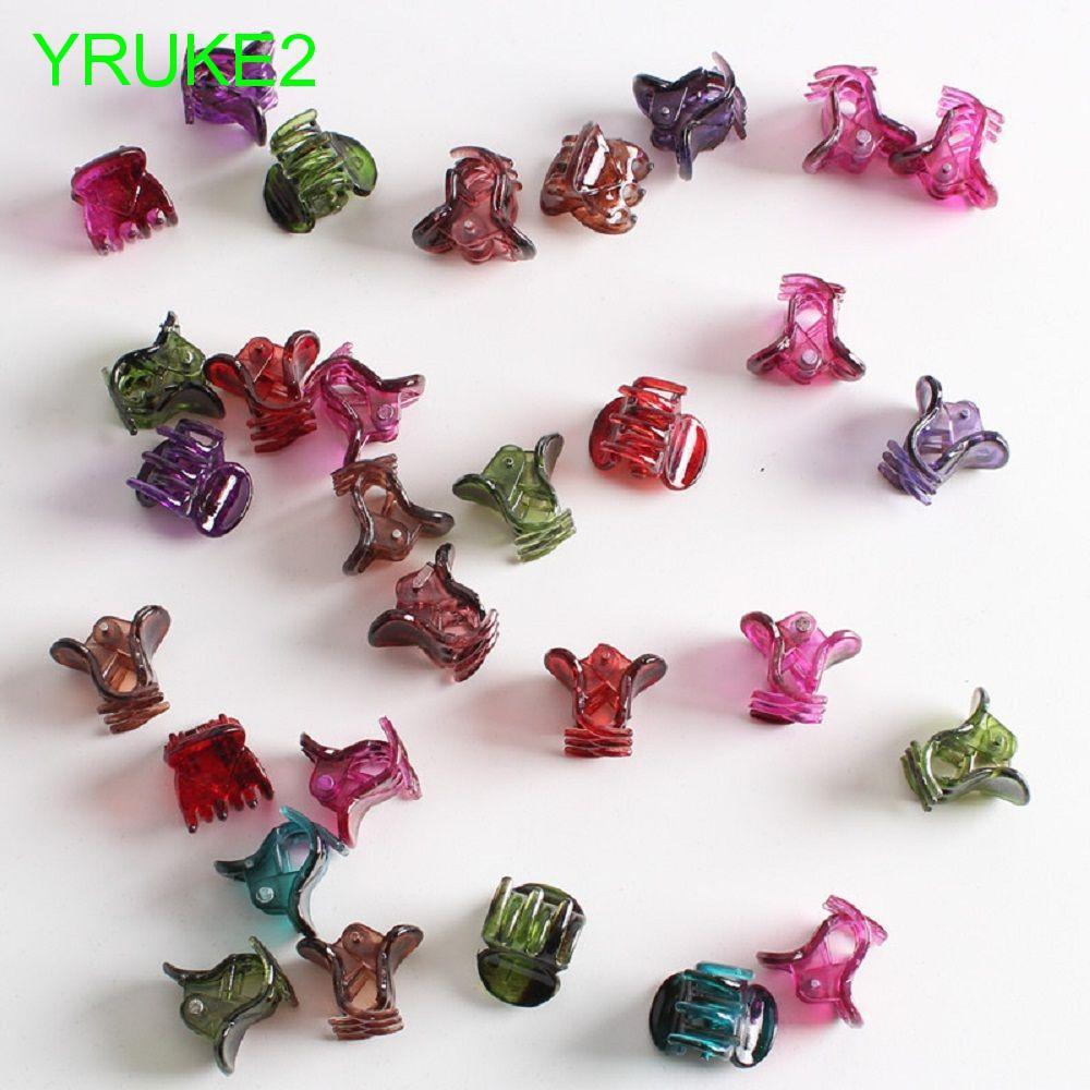 Small Gifts Plastic 12pcs /set Girls Mini Clamps