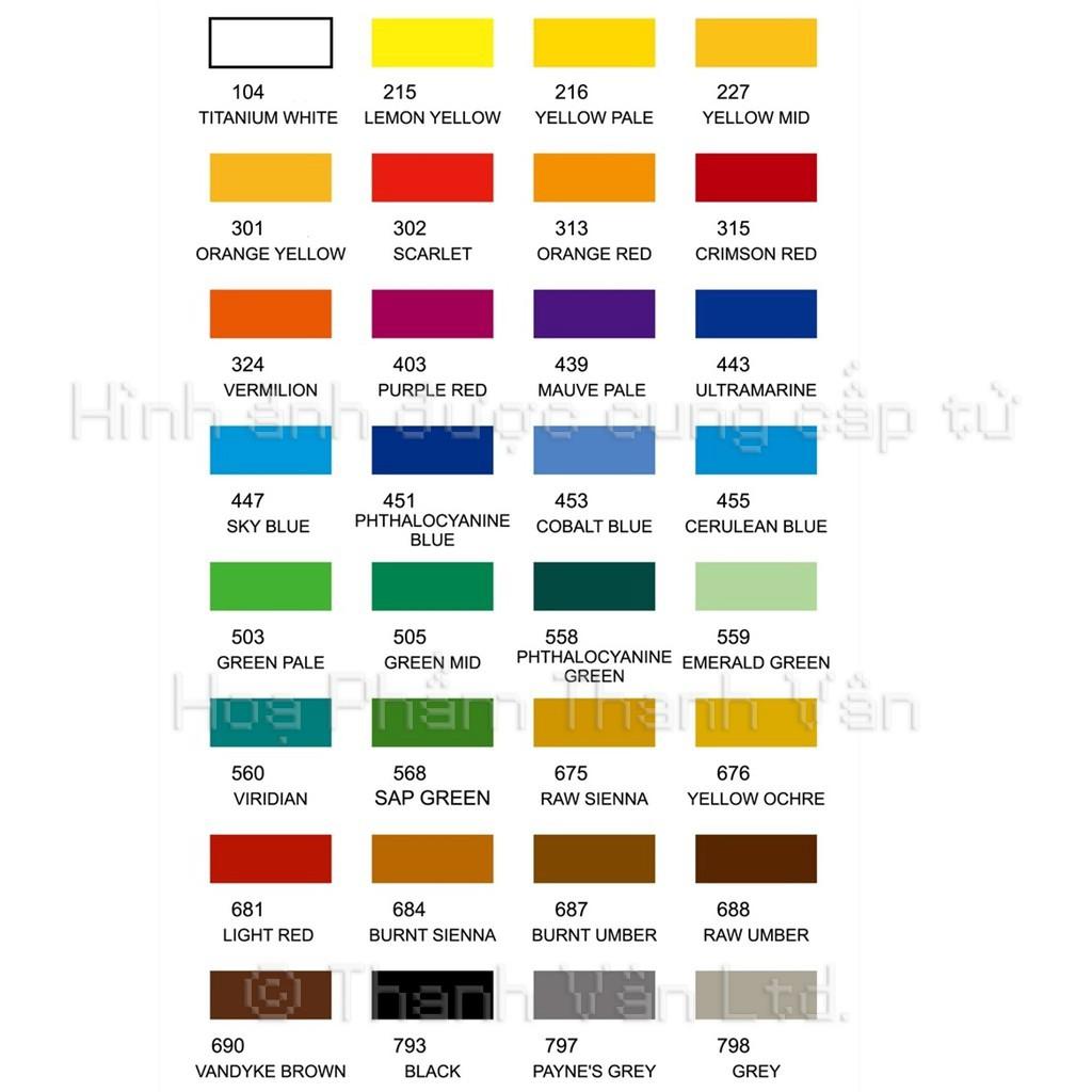 Màu Acrylic Marie's Lọ 100 ml (Màu Maries 100ml Chính Hãng Giá Rẻ)