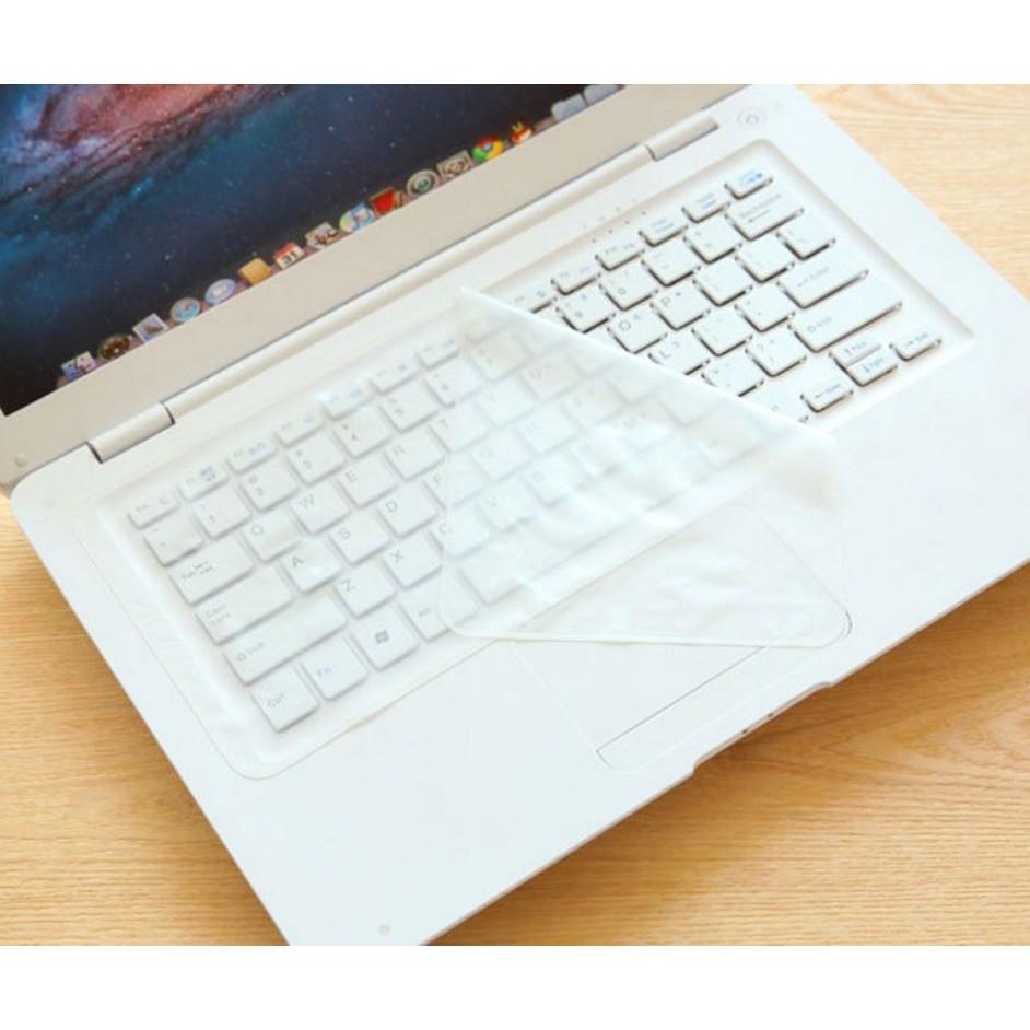 Miếng chắn bụi, che nước bàn phím laptop (xem kích thước)