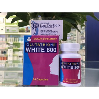 GLUTATHIONE WHITE 800 - VIÊN UỐNG TRẮNG DA (NHÀ THUỐC LÀN DA ĐẸP) thumbnail