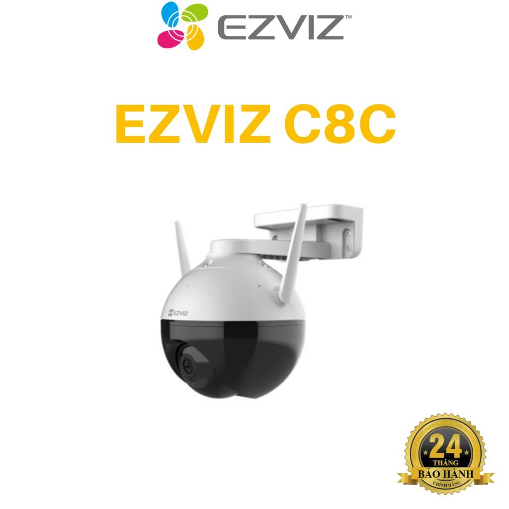 Camera 2M WIFI (Xoay) Ngoài Trời EZVIZ C8C Màu Ban Đêm Thông Minh 1080P C3WN, C3W, C6N, C6CN, C1C, A22EP, C22EP, G22P