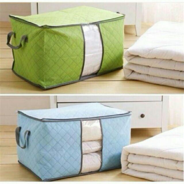 Combo 3 túi vải đựng chăn màn