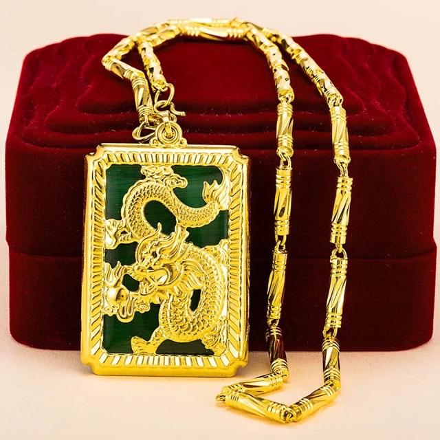 Dây Chuyền Nam Quan Vũ Mạ Vàng 24K - vòng cổ thời trang