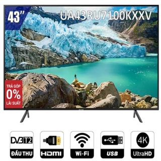 Smart Tivi Samsung 4K 43 inch UA43RU7100KXXV