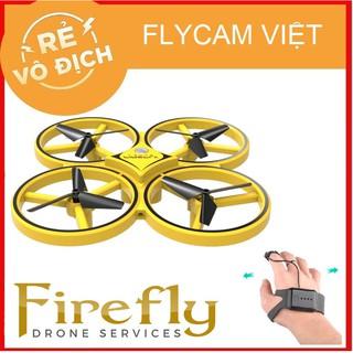 Máy Bay Flycam Giá Rẻ Firefly Drone Y01 Cảm Biến, Bay Theo Cử Chỉ Tay, Nhào Lộn ,Tránh Vật Cản