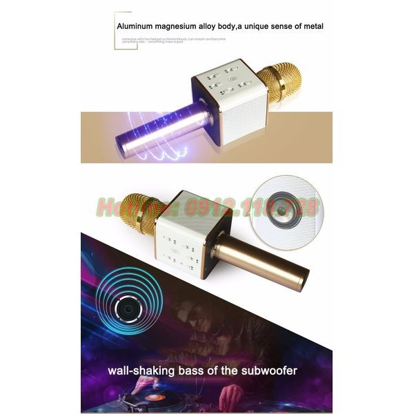 Micro Karaoke Cầm Tay Kèm Loa Bluetooth Q7 - 3003656 , 178642342 , 322_178642342 , 399000 , Micro-Karaoke-Cam-Tay-Kem-Loa-Bluetooth-Q7-322_178642342 , shopee.vn , Micro Karaoke Cầm Tay Kèm Loa Bluetooth Q7