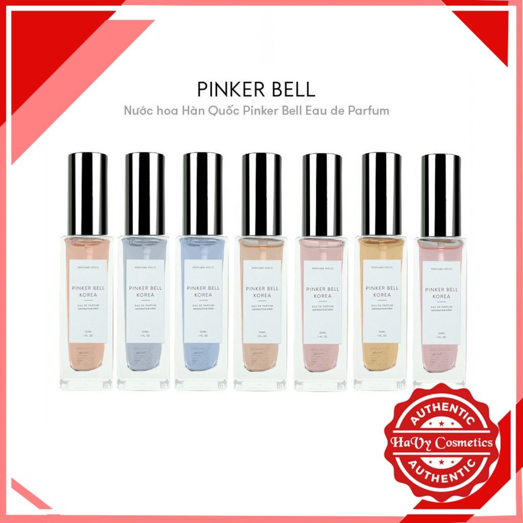 Nước Hoa Pinker Bell Korea Eau The Pafum 30ml - Nước hoa bán chạy nhất Hàn Quốc