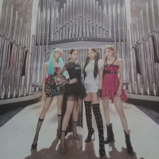Blackpink – Poster 2 mặt Kill This Love official