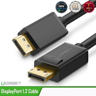 [Mã ELFLASH5 giảm 20K đơn 50K] Cáp Displayport 1,5m chính hãng Ugreen 10245 hỗ trợ 2K*4K,3D