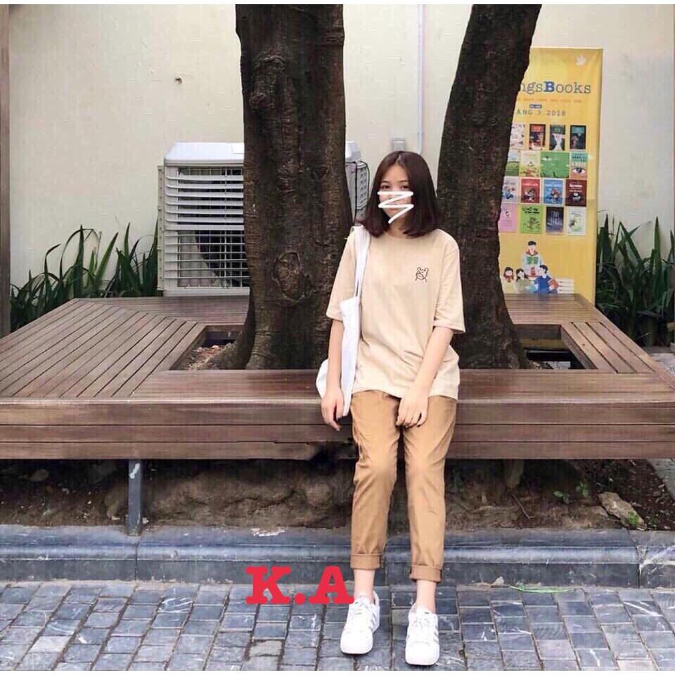 Quần kaki nữ cạp chun CHU1612