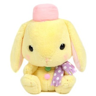 Pote Usa Loppy Snowman Rabbit Thỏ bông tuyết vàng Amuse