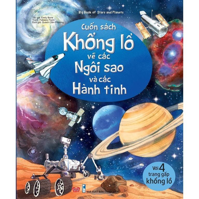 Sách - Big Book về ngôi sao và các hành tinh