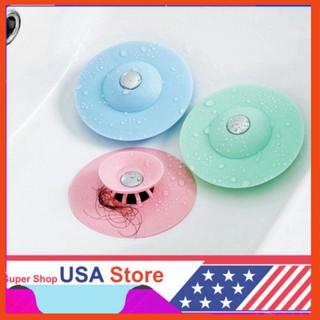 CỰC HOTT Chặn Rác Bồn Rửa Bát - Bồn Rửa Mặt - Bật Mở Thông Minh - Ngăn Mùi Bồn Tắm - Nắp Cống thumbnail