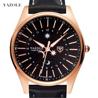 Đồng hồ nam YAZOLE chính hãng, dây dao cao cấp, đeo êm tay, chống nước tốt, lịch lãm, phong cách ( Mã AYS ) thumbnail