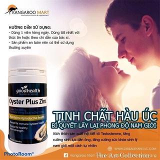 Tinh chất hàu Good Health Oyster Plus tăng cường sinh lý nam giới (Date 2024) thumbnail