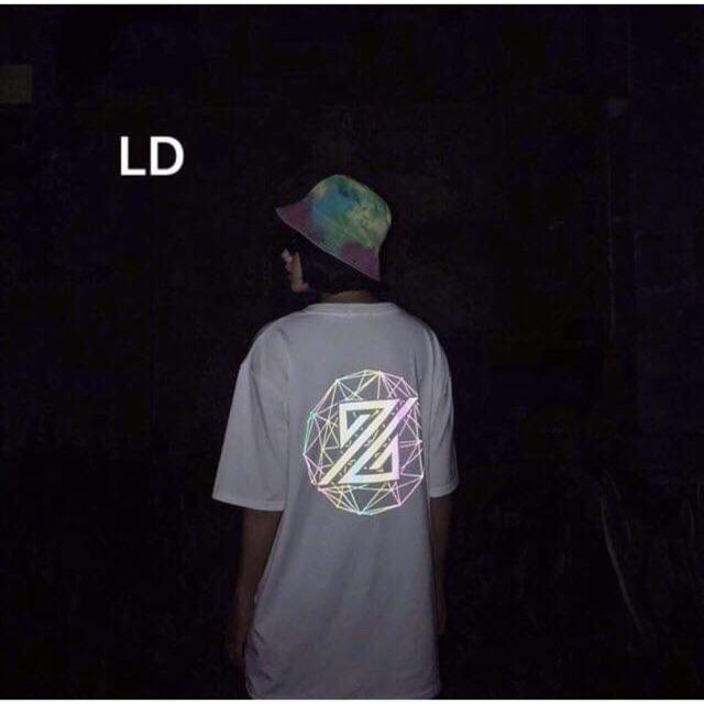 Áo phản quang lô gô bảy màu L&D