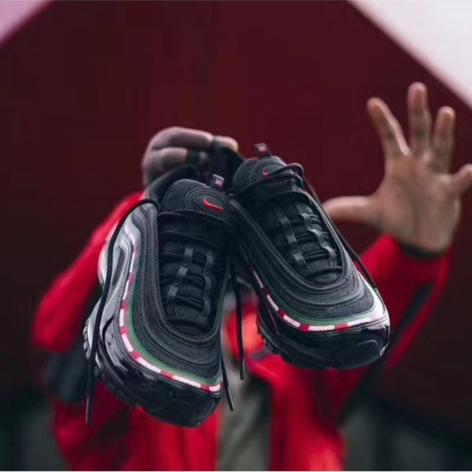 2018 POP new Undefeated x nike air max 97 OG sports running