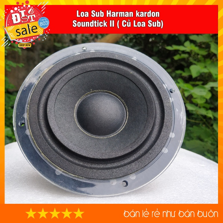 Loa Sub Harman kardon soundtick II ( Củ Loa Sub pha lê 5.5 inch )