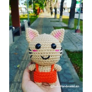 Móc Khóa Mèo Kute Len – Thú Len Handmade
