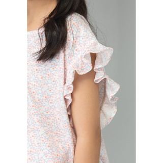 IVY moda Bộ áo thun bé gái (kèm quần)MS 56G0977
