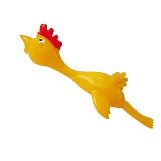 Cozyroomsa 11.5cm Novelty Joke Finger Toys Stretchy Flying Laugh Turkey Stiy Chien