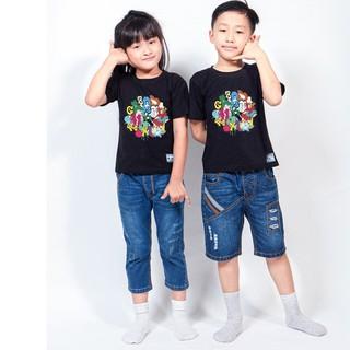 Áo thun trẻ em unisex dành cho bé trai và gái - in mess letter - firstcry