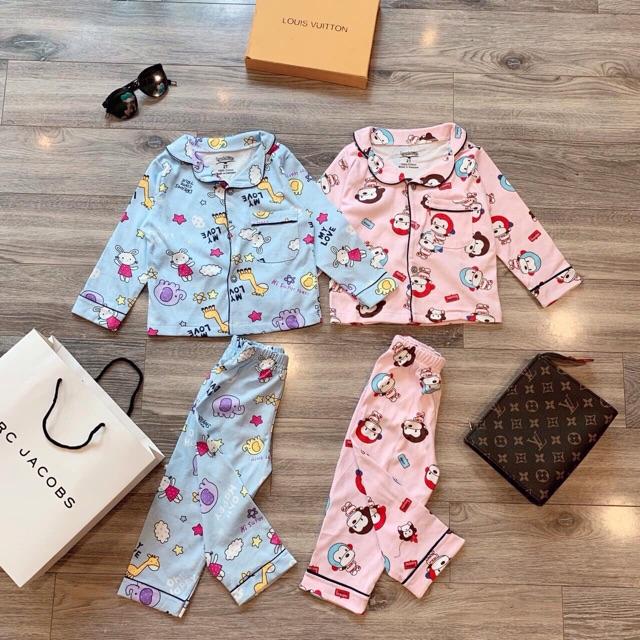 Pijama cotton xuất dư cho bé trai/ gái (10-