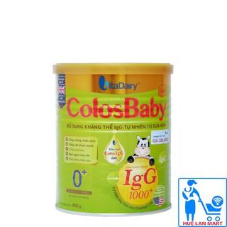 [CHÍNH HÃNG ] Sữa Bột VitaDairy ColosBaby Gold 0+ Hộp 400g (Bổ sung kháng thể IgG 1000+ tự nhiên từ sữa non) thumbnail
