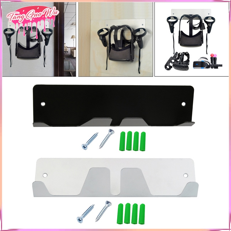 VR Stand Wall Mounted Hook for Rift S HTC Vive Reality Headsets,Space Saving