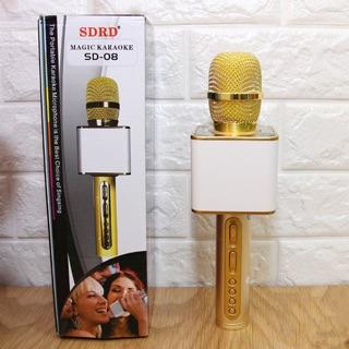 Míc hát Karaoke Buletooth SD-08