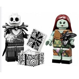 [CÓ SẴN – LIKENEW] LEGO – 2 Nhân vật Jack & Sally – Minifigures Disney Series 2 (71024) REAL