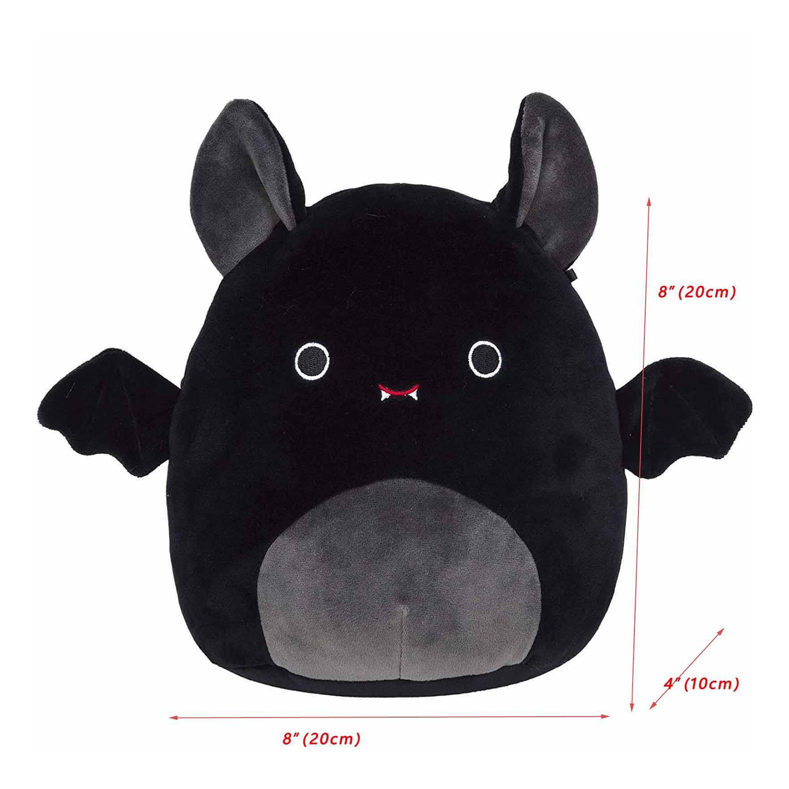 8″ Halloween Plush Bat Toy Christmas Holiday Birthday Gift for Kids
