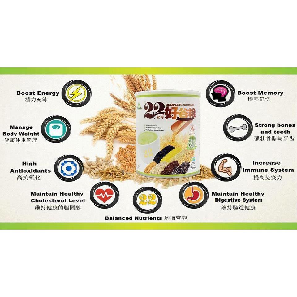 bột dinh dưỡng tổng hợp 22 loại ngũ cốc 750gr - 3494609 , 1274896491 , 322_1274896491 , 650000 , bot-dinh-duong-tong-hop-22-loai-ngu-coc-750gr-322_1274896491 , shopee.vn , bột dinh dưỡng tổng hợp 22 loại ngũ cốc 750gr