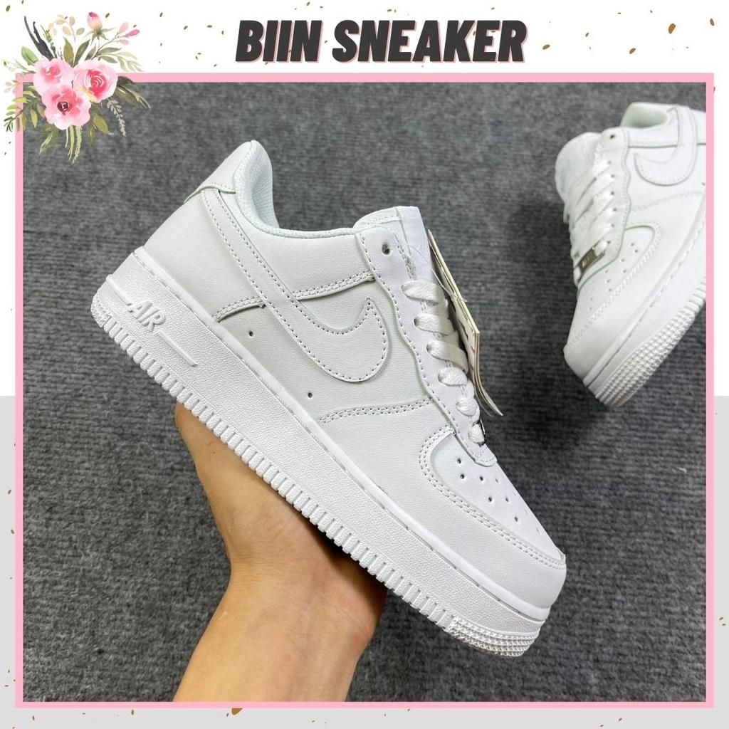 [🔔 XẢ KHO] Giày 𝐍𝐢𝐤𝐞 trắng, 𝐍𝐢𝐤𝐞 AF1 Màu Trắng Bản Đẹp Tiêu Chuẩn Hot Hit 2021