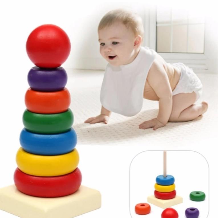 Đồ chơi raibow tower cho bé - 3256506 , 379237491 , 322_379237491 , 79000 , Do-choi-raibow-tower-cho-be-322_379237491 , shopee.vn , Đồ chơi raibow tower cho bé