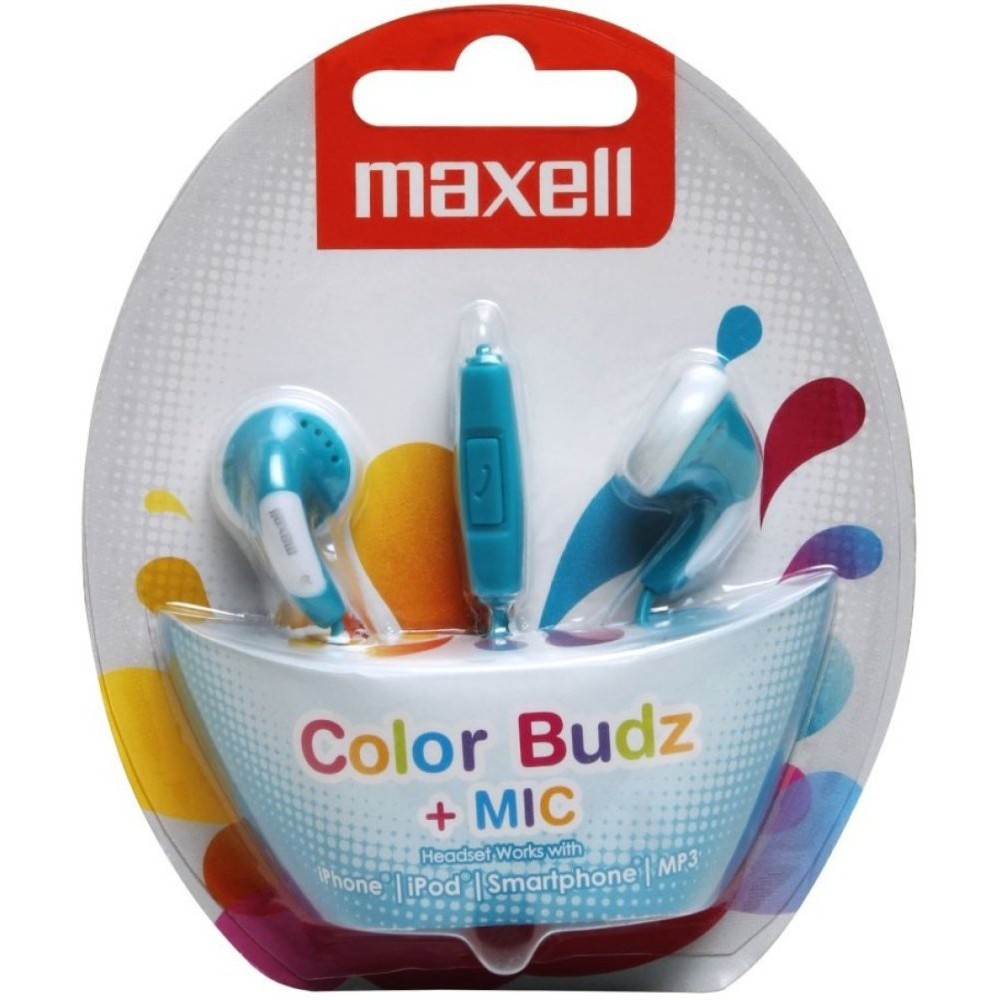 Image result for Maxell COLOR BUDS MIC
