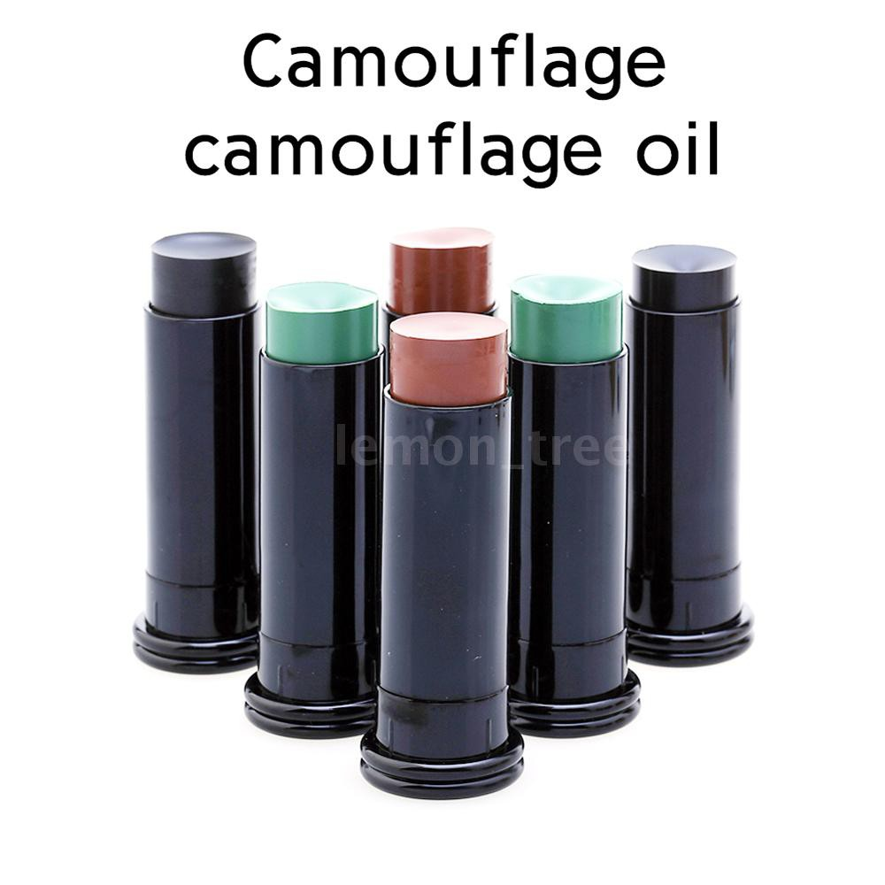 1 Pcs Tactical Military Camping Paint Face Body Camouflage Oil Paintball Hunting Real CS Outdoor Field Oil