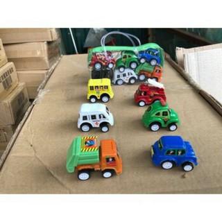 Set 6 ô tô đồ chơi cho bé