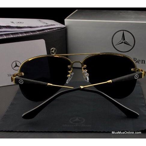 Mắt kính nam thời trang cao cấp chống nắng MER743 – Kính mát nam phân cực Mercedes Benz chống chói...